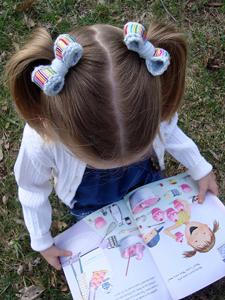 Sweet Little Bows - crochet hair accessories, free pattern!