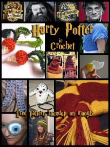 Harry Potter Crochet Patterns - free! Roundup on Moogly!