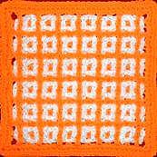 Interlocking Filet Stitch - unusual crochet stitch patterns