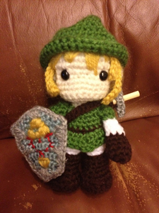 Amigurumi Link Pattern : All Your Crochet Are Belong to Us - Video Game Amigurumi ...