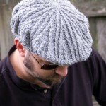Men's Cabled Golf Cap