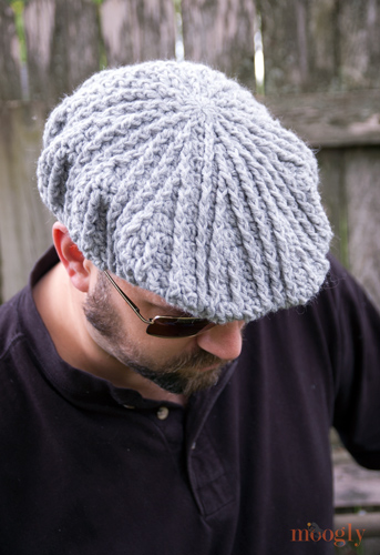 Free Pattern Men S Cabled Golf Cap Moogly
