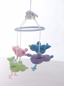 Crochet Patterns For Baby Mittens : Pics Photos - Crochet Baby Birdie Mobile Crochet Baby ...