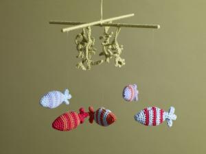 Undersea Mobile - Free Crochet Mobile Pattern!