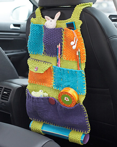 Road Trip Car Caddy - on Unpinning Pinterest