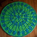 Shocking Mandala Rug on Stitch & Unwind!