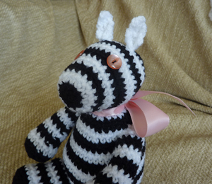Free Zebra Stripe Crochet Pattern : Add Some Zing with Free Zebra Crochet Patterns! - moogly