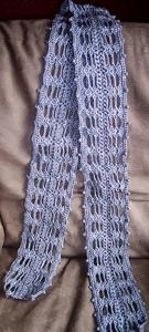 Luna Lovegood Scarf - free Harry Potter crochet patterns