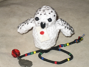 Snowy Owl Amigurumi  - free Harry Potter crochet patterns
