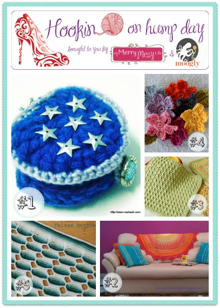 Hookin On Hump Day #51 - add your fiber arts links and check out the best entries from the last two weeks!