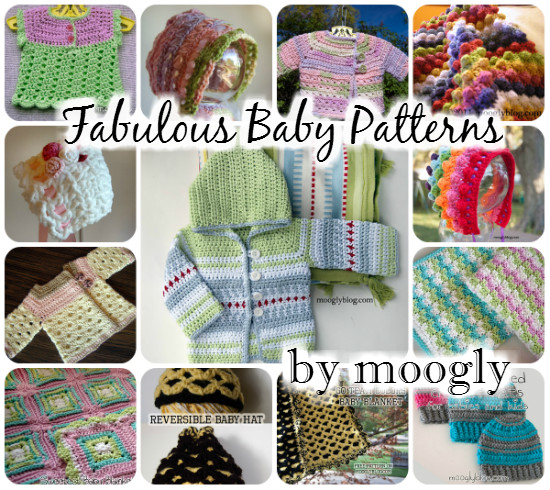 "Moogly Pattern Round-Up Extravaganza by ""e"" Lee of The Crochet Lounge!"