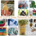 """Moogly Pattern Round-Up Extravaganza, by """"e"""" Lee of The Crochet Lounge"""