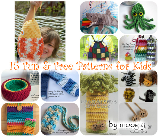 """Moogly Pattern Round-Up Extravaganza by """"e"""" Lee of The Crochet Lounge!"""