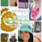 10 Modern and Refreshing Pineapple Crochet Patterns