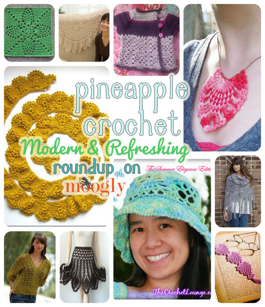 10 Modern And Refreshing Pineapple Crochet Patterns All Free