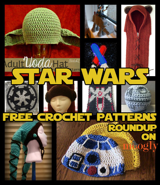 That\'s No Moon, That\'s Star Wars Crochet! 10 Free Patterns - moogly