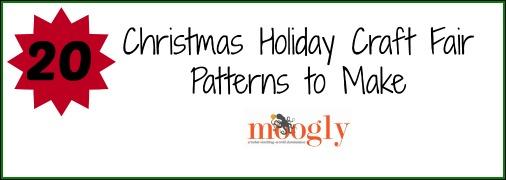 20 Christmas Holiday Craft Fair Patterns To Make By Sara Duggan