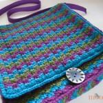 Mesmerizing Messenger Bag - free crochet pattern n moogly!