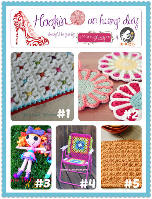 Check out the awesome fiber arts projects in this fantastic linky party! Hosted on Moogly & MyMerryMessyLife!