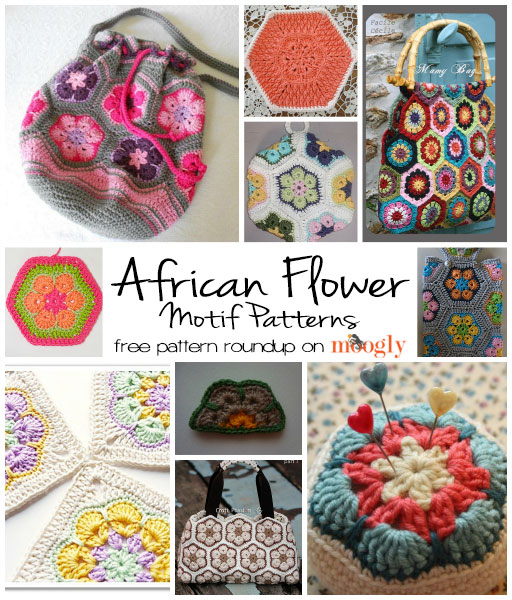 10 Fun Free African Flower Motif Patterns Moogly
