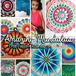 You Spin Me Round (Like a Mandala)! 10 Free Mandala Crochet Patterns