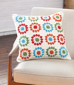 Copenhagen Pillow :: Crochet Pillow Pattern