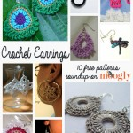 10 Beautiful & Free Crochet Earrings Patterns in Thread!