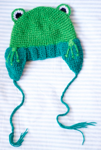 Crochet Frog Hat :: Free Crochet Frog Patterns! Hop to it!