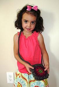 Crochet Mandala Kids Purse - Free #Mandala #Crochet Pattern Roundup
