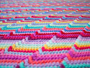 Groovy-ghan - free stash buster afghan crochet patterns