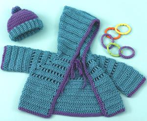 357eb188e463 10 Free Crochet Cardigan Sweater Patterns for Baby Boys!