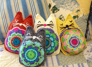 Karmic Kitty Pillow Plushie