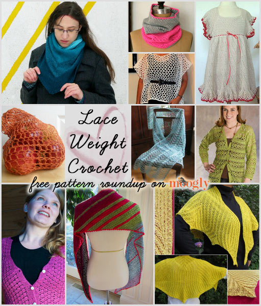 Crochet Patterns Lace Weight Yarn : Light and Lovely Lace Weight Crochet - free pattern roundup on Moogly!