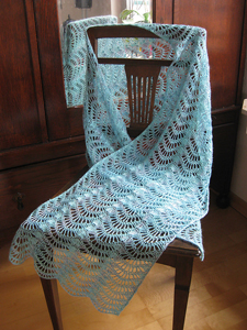 Crochet Lace Weight Shawl Pattern : Light & Lovely Lace Weight Crochet Patterns! - moogly