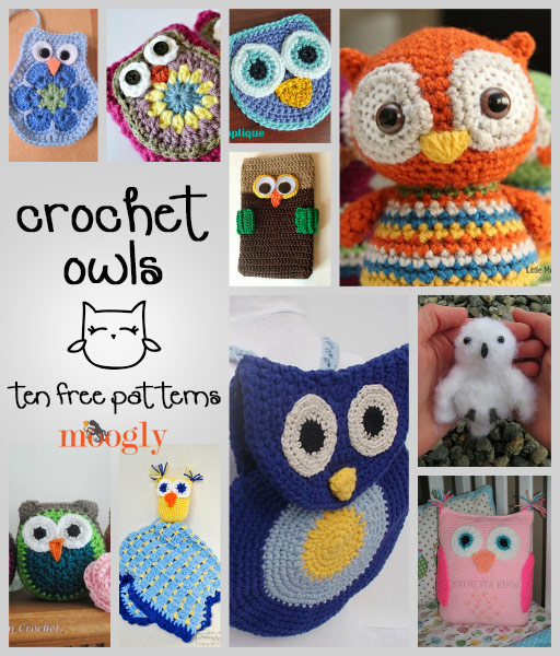 Crochet Patterns Free Owl : Crochet Owl Applique Cake Ideas and Designs