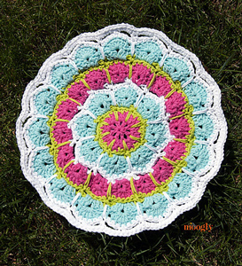 Magic Spike Mandala - Free #Mandala #Crochet Pattern Roundup