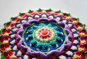 Mandala and Stool Cover