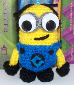 Minion on Crochet_Goods - free Minons crochet patterns roundup on Moogly!