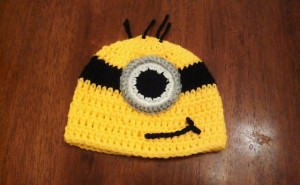 Minion Beanie by Butterfly's Creations