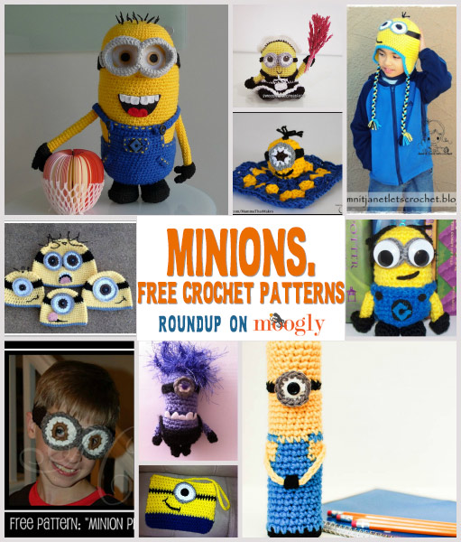 Free Minions Crochet Patterns - a roundup on Moogly!