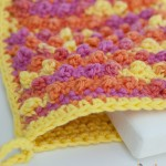 Free #Crochet Pattern :: Pampering Picots Bath Mitt