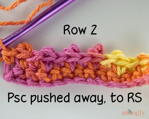 Picot Single Crochet and the Granule Stitch Pattern - video and photo tutorial!