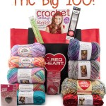 The Moogly & Red Heart Yarns Big 100 Giveaway!
