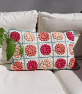 Something Pretty Crochet Pillow Pattern