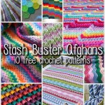10 Fun and Free Stash Buster Afghan Crochet Patterns!