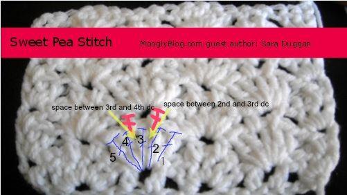 Sweet Pea Stitch Tutorial