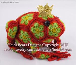 Amigurumi Crochet Frog ~ FREE Crochet Pattern | 257x300
