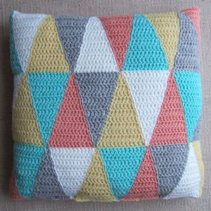Change it up with free crochet pillow patterns moogly triangle pillow crochet pillow pattern dt1010fo