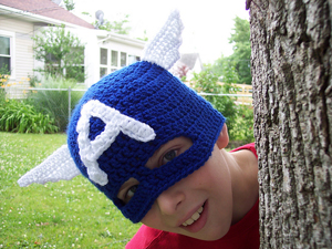 Free #Crochet Avengers Patterns :: Captain America!