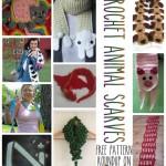 Roar, Moo, Baa! 10 Free Crochet Animal Scarf Patterns!